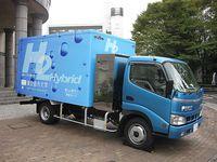 水素ハイブリッドトラック