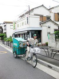 リヤカー付き電動自転車
