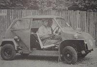スバルの実験車両